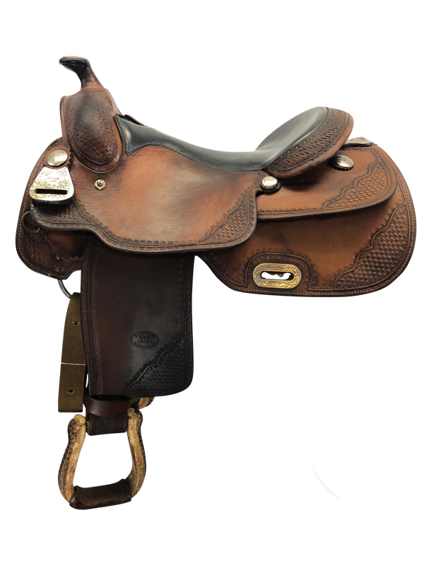 16inch Used Billy Cook Wide Reiner Saddle Pro Reiner