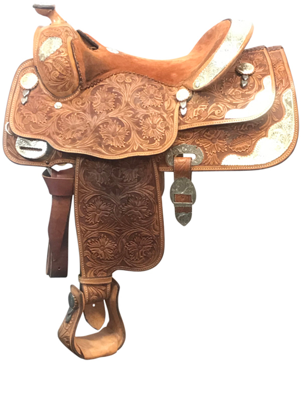 16inch Used Billy Cook Wide Show Saddle 9022