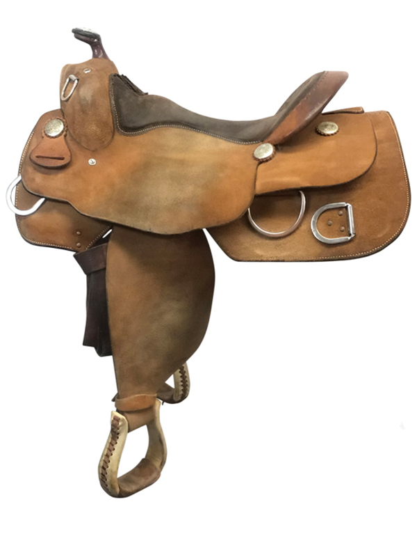 16inch Used Billy Cook Wide Training Saddle 9030