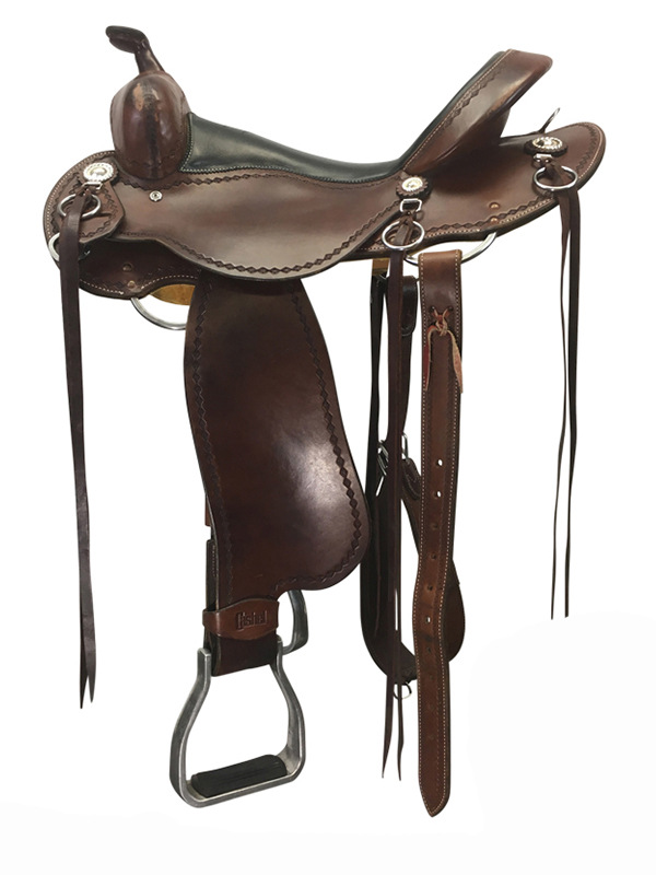 16inch Used Cashel Medium Trail Saddle SA-CT usch4188