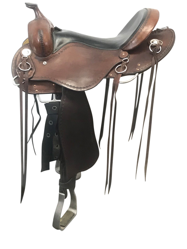 16inch Used Cashel Wide Trail Saddle