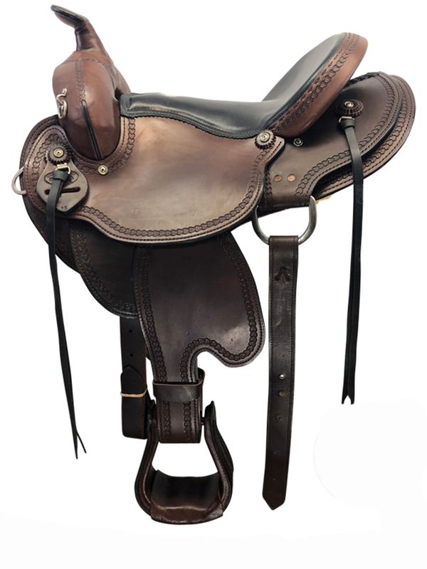 16inch Used Dakota Medium Flex Trail Saddle 213