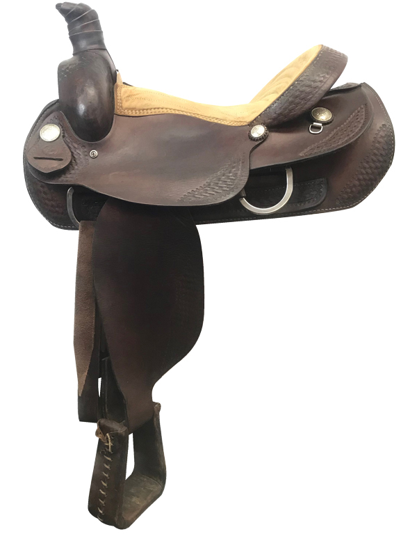 16inch Used Dakota Medium Roping Saddle