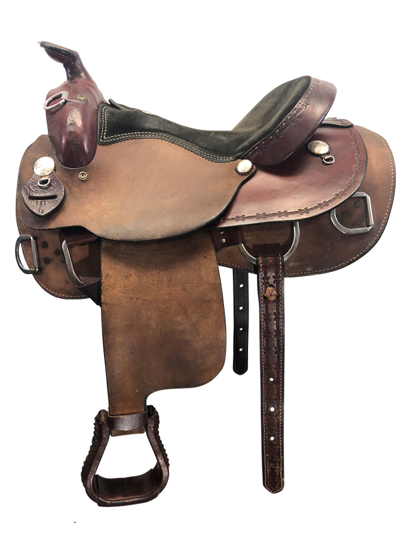 16inch Used Dakota Wide Training Saddle 921