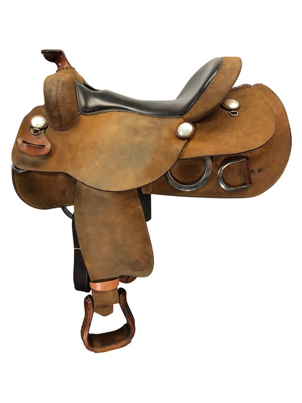 16inch Used Reinsman Wide Training Saddle