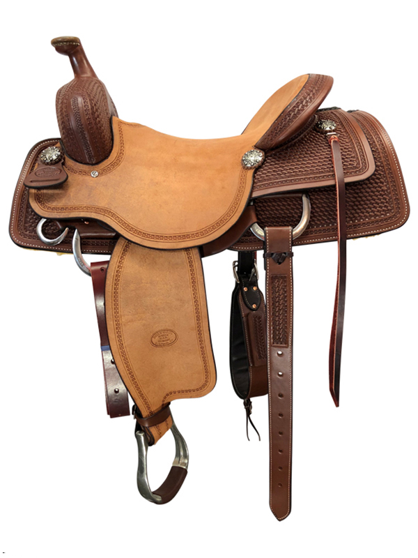16inch to 17inch Billy Cook Working Cow Horse Saddle 6310