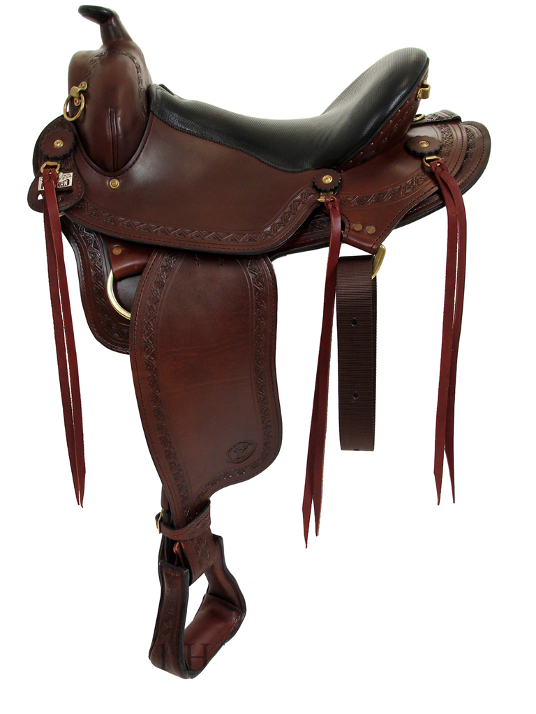 16inch to 18inch Big Horn Western Flex Gaited Saddle 1684
