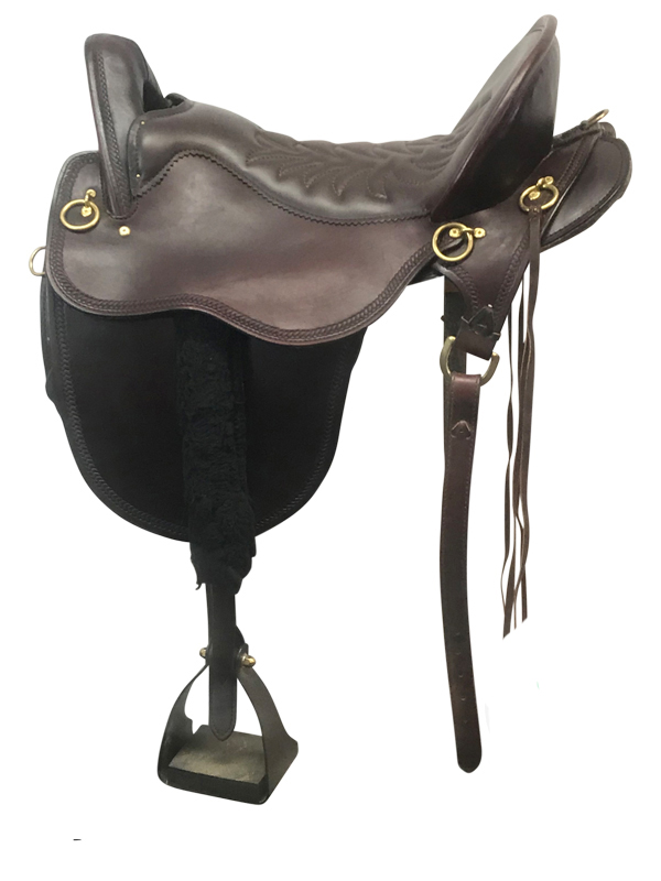 17.5inch Used Tucker FB Medium Endurance Trail Saddle 146 River Plantatio