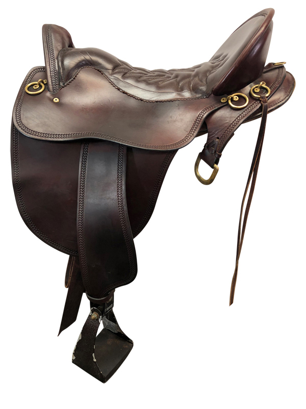 17.5inch Used Tucker Wide Endurance Saddle
