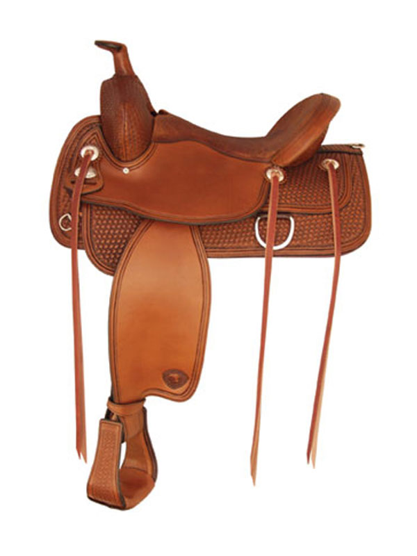 17inch Tex Tan Benton Flex Trail Saddle 292TF483