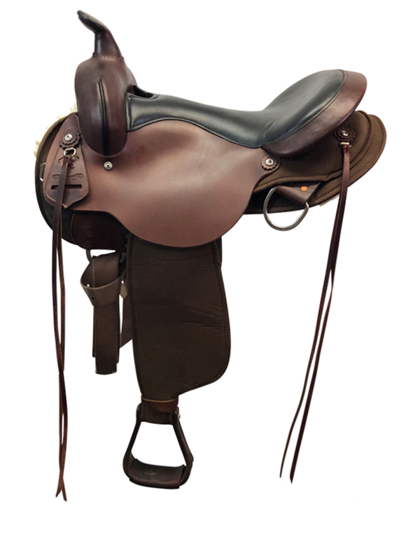 17inch Used High Horse Medium Gaited Trail Saddle