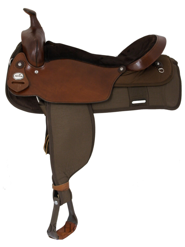 19inch Fabtron The Big Un Trail Saddle_ Extra Large Seat 7136