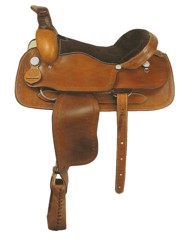 20inch American Saddlery Barb Wire Roping Saddle 200 CLEARANCE