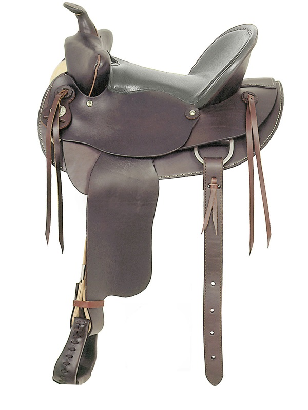 American Saddlery Bear Trap Rancher Saddle_ Padded Seat