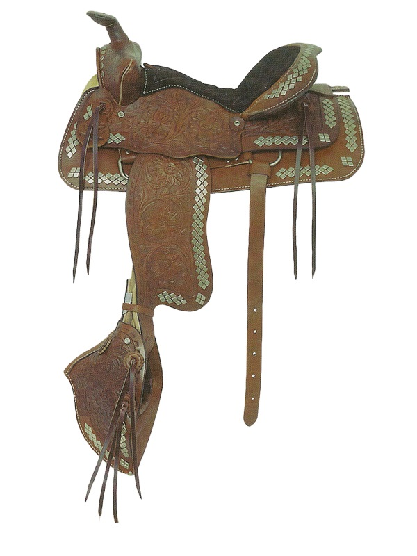 American Saddlery The Parade of Diamonds Saddle