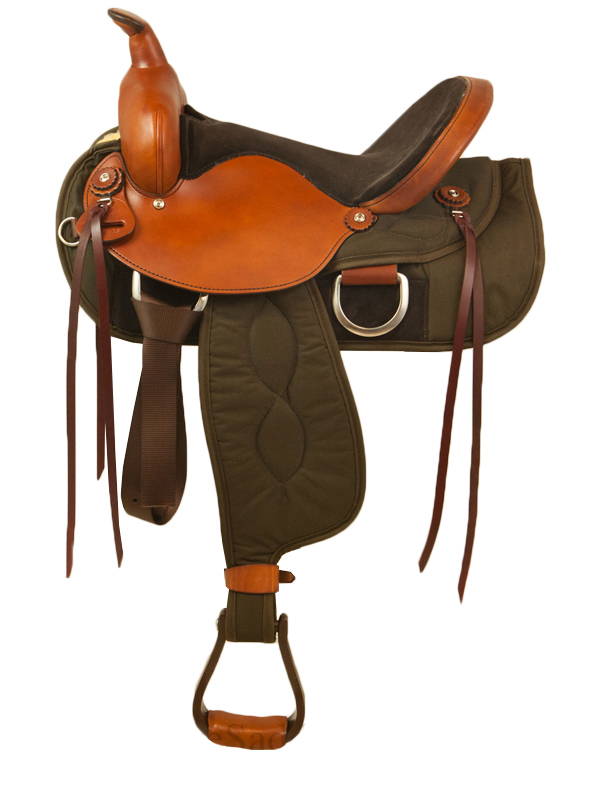 Big Horn Ladies Light Weight Trail Saddle_ Wide Tree