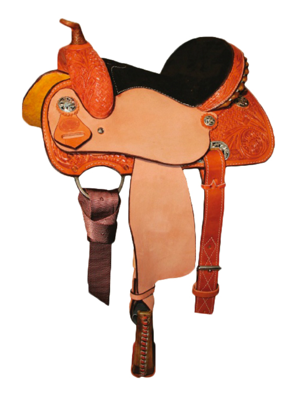Circle Y Little Cowpoke Youth Barrel Racer Saddle 3002