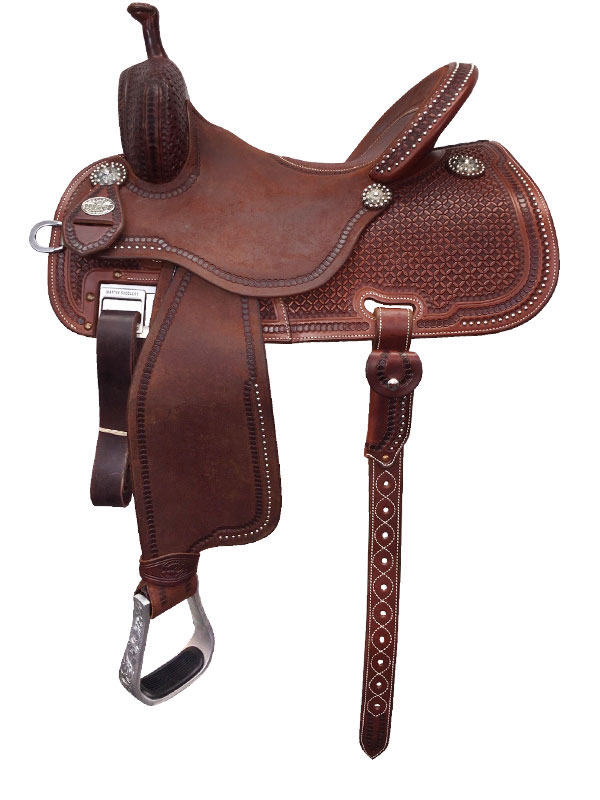Martin Saddlery Sherry Cervi Crown C Custom Barrel Racer 97-C3