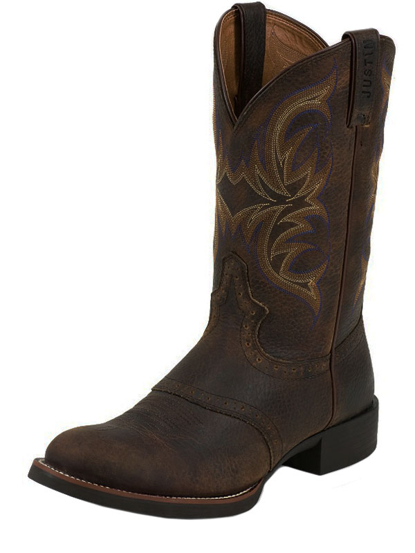 Men's Justin Murray Stampede Rawhide Boots 7200