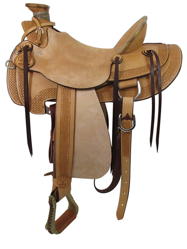 PRICE REDUCED! 15inch Big Horn Wade Ranch Trail Saddle 867