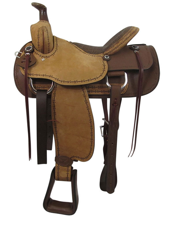 PRICE REDUCED! 16inch Big Horn Ladies Choice Cow Girl Saddle 962