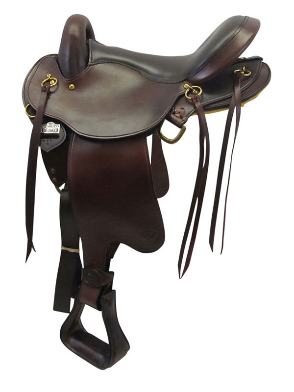 PRICE REDUCED! 16inch Big Horn QHB Gaited Endurance Saddle 830