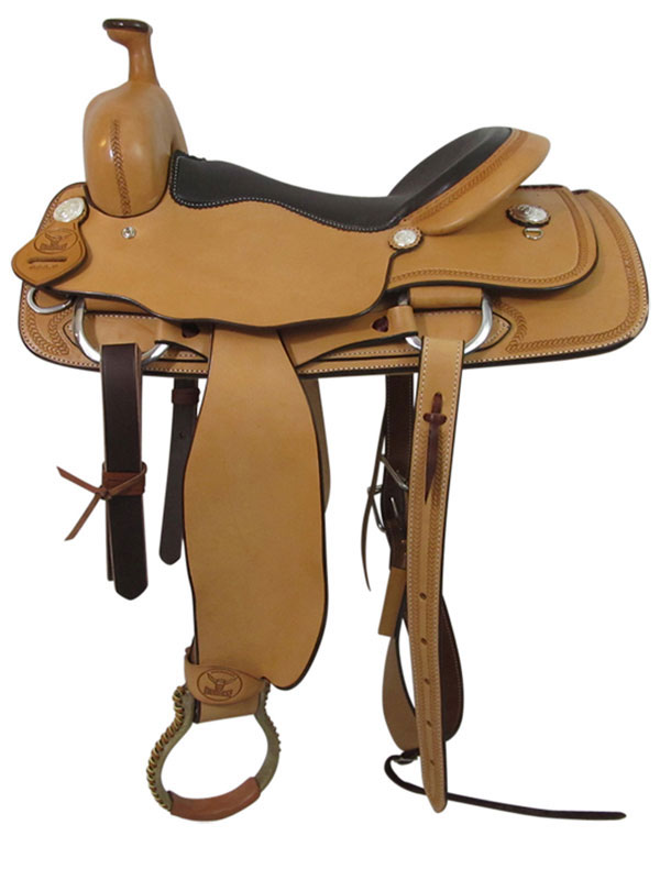 PRICE REDUCED! 16inch Big Horn Ranch Cutting Saddle 865