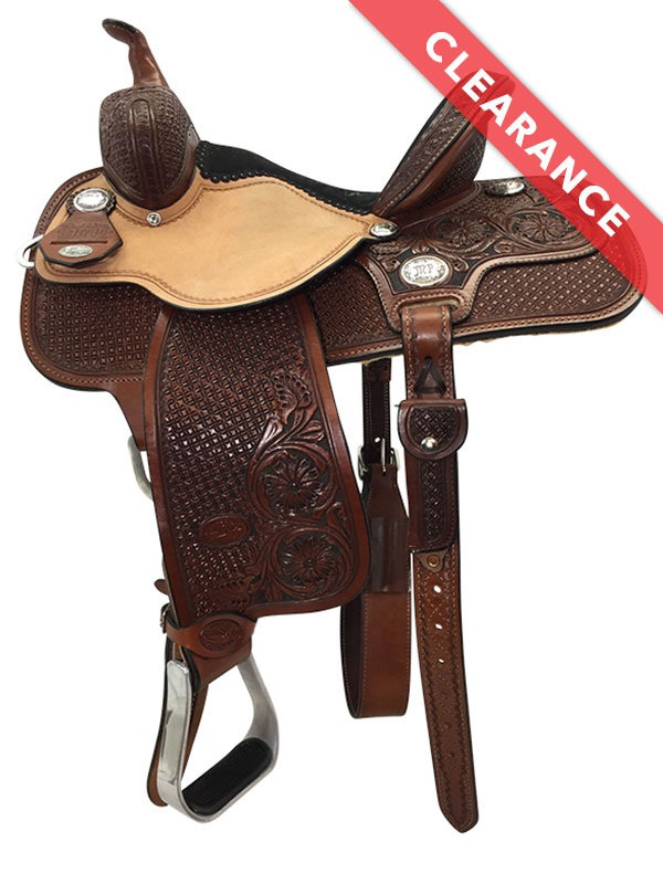 Reinsman Molly Powell Painted Daisy Barrel Racer 4262 w/$210 Gift Card