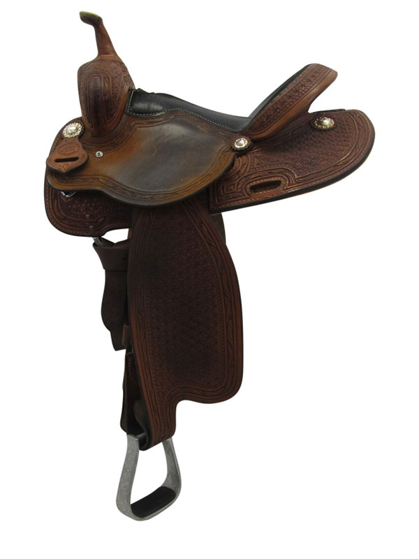 Used 14.5inch Cool Horse Barrel Saddle usch3296