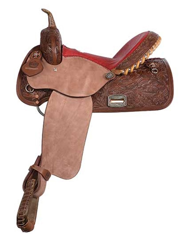 Alamo Chocolate Barrel Racer or Pleasure Saddle 1274-3M 1275-3M
