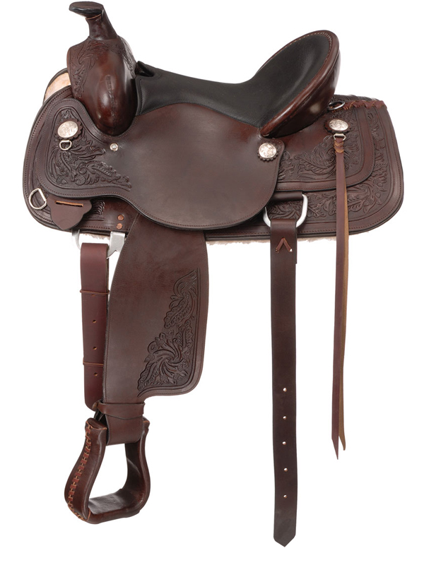 15.5inch to 16.5inch Royal King Adkins Trail Saddle 975 976
