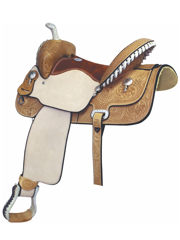 14inch Billy Cook Paycheck Supreme Barrel Saddle 291211