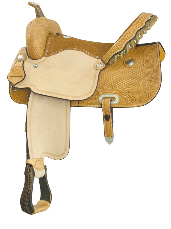 15inch Billy Cook Best Time Flex Racer Barrel Saddle 291275