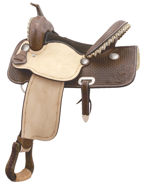 15inch Billy Cook Flex Flyer Barrel Saddle 291260