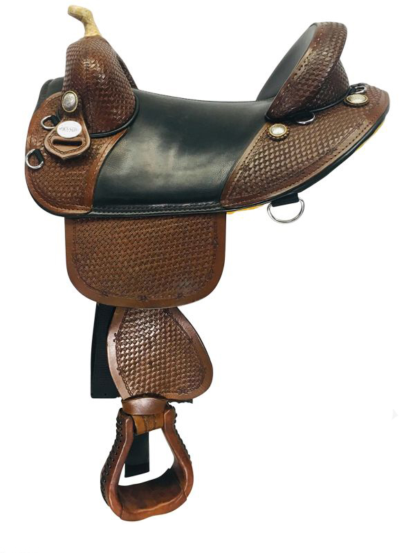 15inch Used Bob Marshall Treeless Barrel Sport Saddle usbm4293
