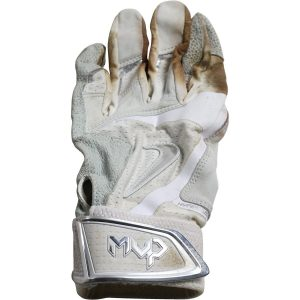 Alex Rodriguez Game Used White Nike Hyperfuse Batting Glove (Single)(3rd Party LOA)