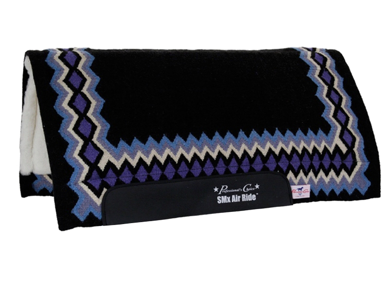 Professionals Choice SMx Air Ride Western Show Saddle Pad AXHDS ZDS